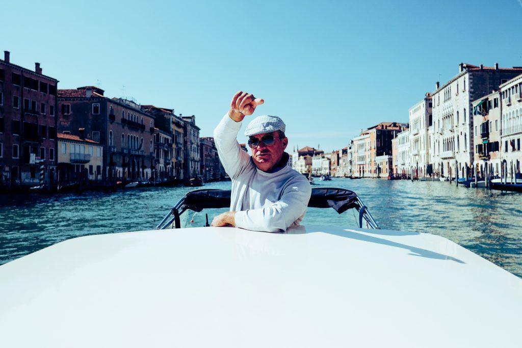 Venedig / Taxifahrer