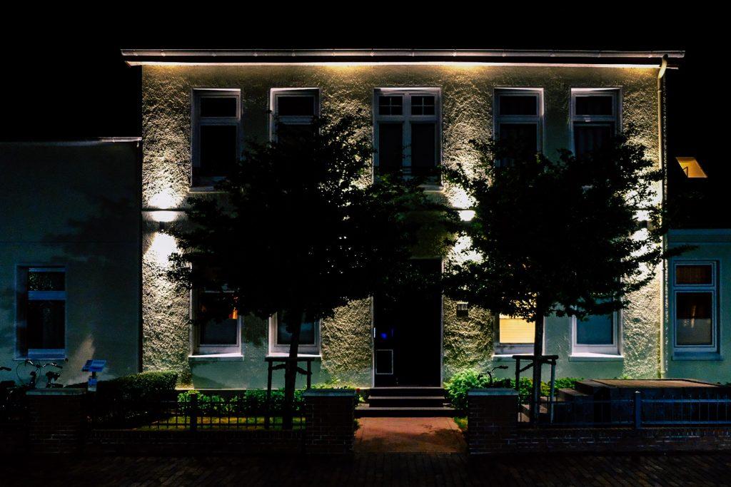Wangerooge / Haus bei Nacht